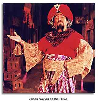 The Duke from Comedy of Errors - Marin Shakespeare Company 1992