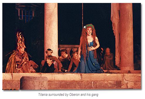 Oberon and Titania -  Marin Shakespeare Midsummer Night's Dream 1994