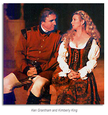 Much Ado About Nothing - Marin Shakespeare Company 1995 - Ken Grantham and Kimberly King