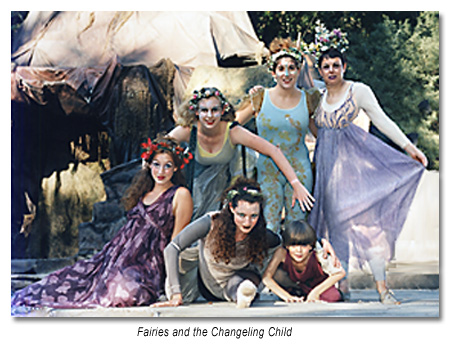 Titania's Fairies and the Changeling Child