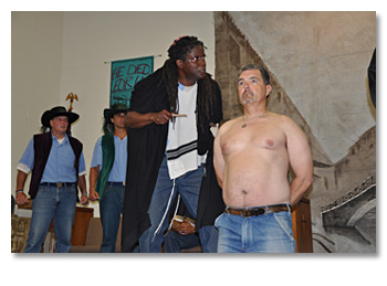 Merchant of Venice 2013, San Quentin
